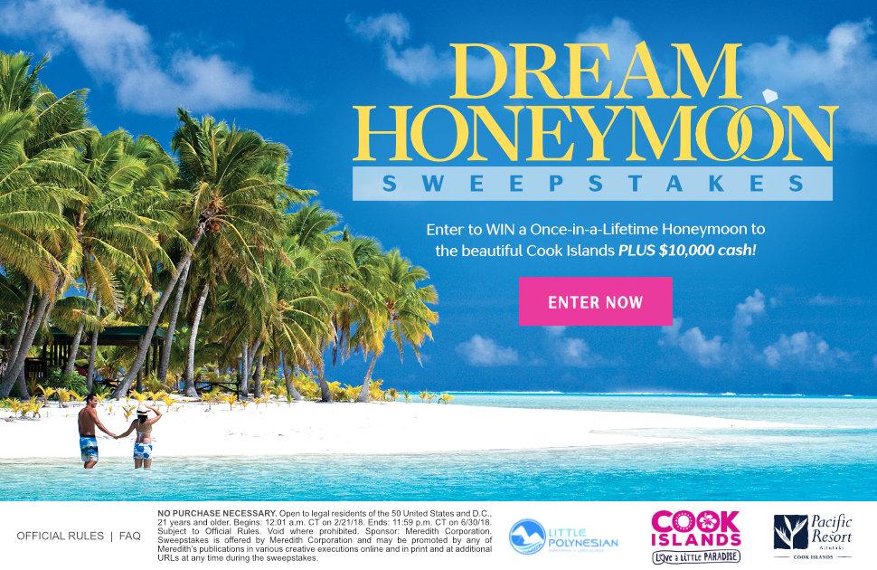 Dream honeymoon giveaways