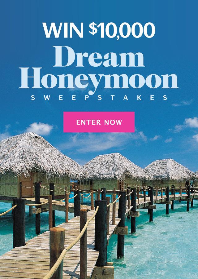 Dream Honeymoon $10,000 Sweepstakes 2018 | Martha Stewart