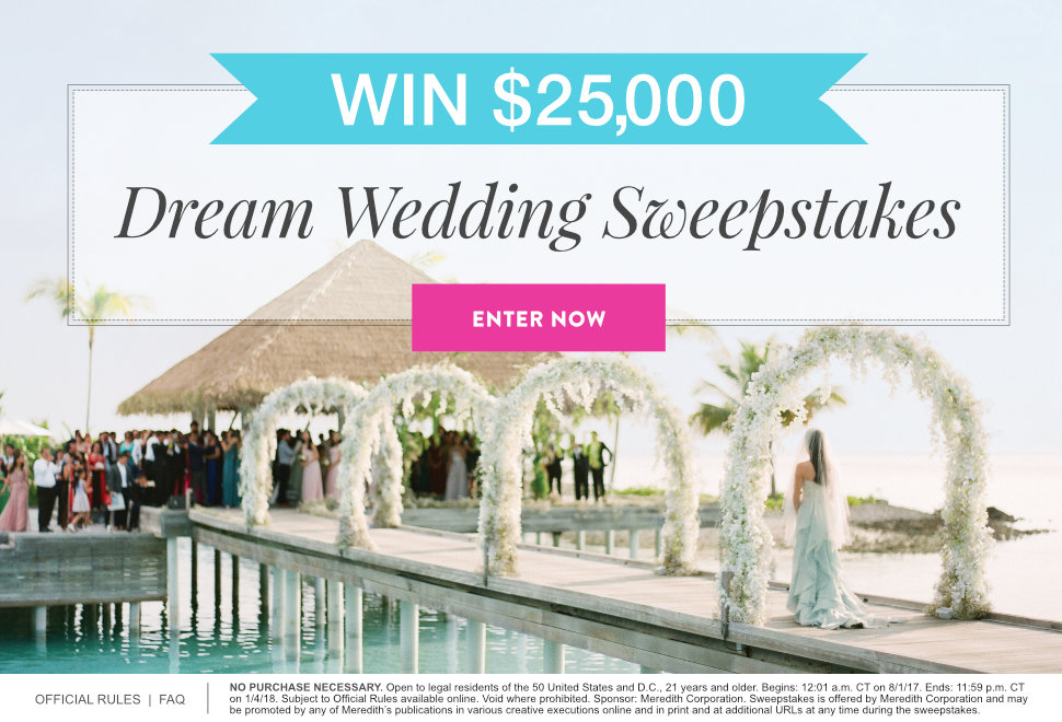 dream weddings 25000 sweepstakes v1