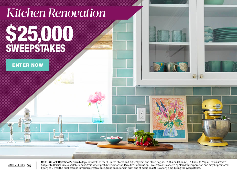 win kitchen renovation worth 25 000