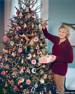 Setting Up A Christmas Tree Martha Stewart