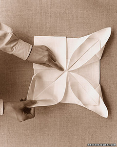 How to Fold Paper Napkin Fancy Way For Party