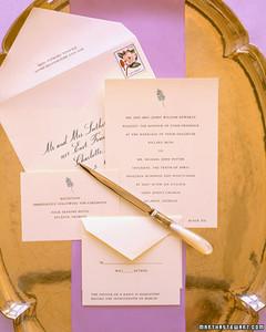 invitation basics  martha stewart, Wedding invitations