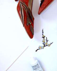 applique shoes