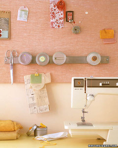 Mount A Magnetic Strip On The Wall Martha Stewart