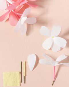 Paper Flower Garland Martha Stewart