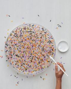 confetti tray steps