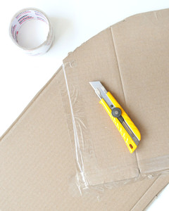 rainbow balloon arch craft cardboard