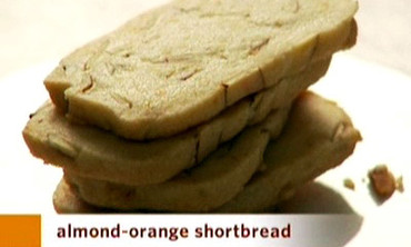 Video: Almond-Orange Shortbread Cookies | Martha Stewart