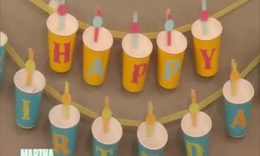 Video decorated paper lanterns with paint martha stewart - Paper lantern paint color ...