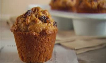 Video: Blueberry-Orange Cornmeal Muffins | Martha Stewart