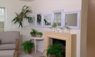 Mirrored Wall video: learn & do: how to make a mirrored wall | martha stewart