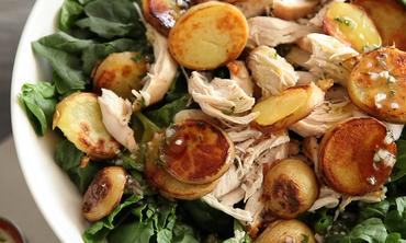 Video: Crispy Chicken and Apple Salad | Martha Stewart