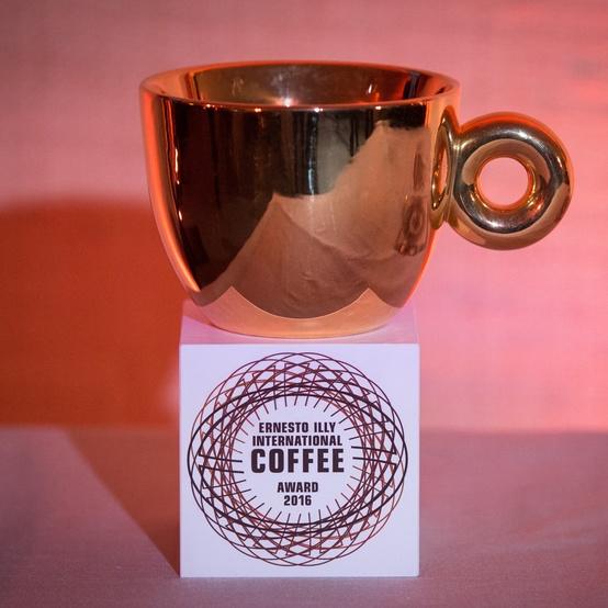 Ernesto Illy International Coffee Award trophy
