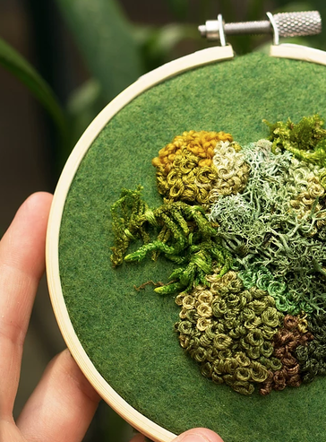 Embroidery Moss