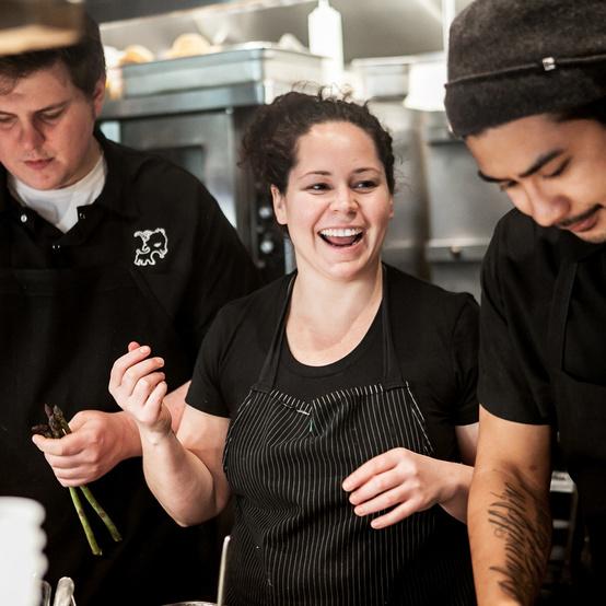 chef stephanie izard candid