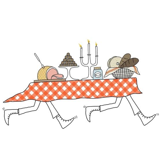 smorgasbord-table-illustration