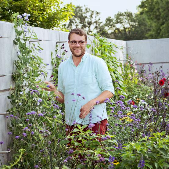 Kelly Norris Des Moines botanical garden