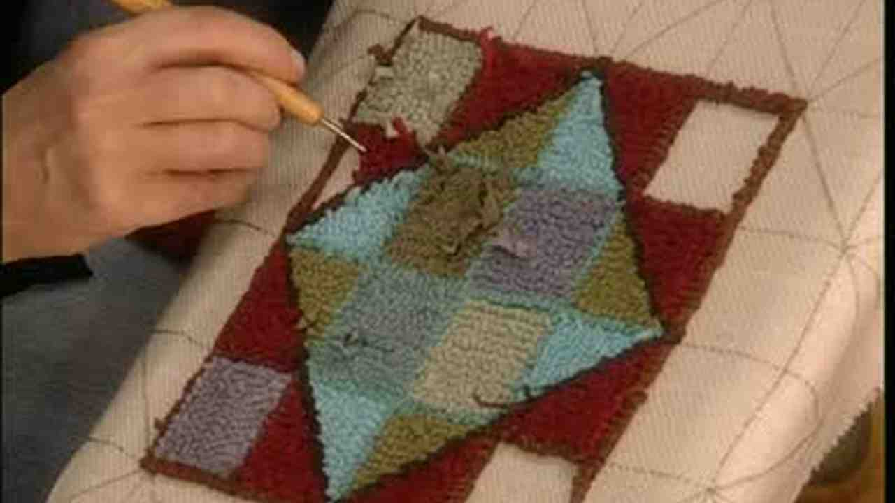 Video Rug Hooking Martha