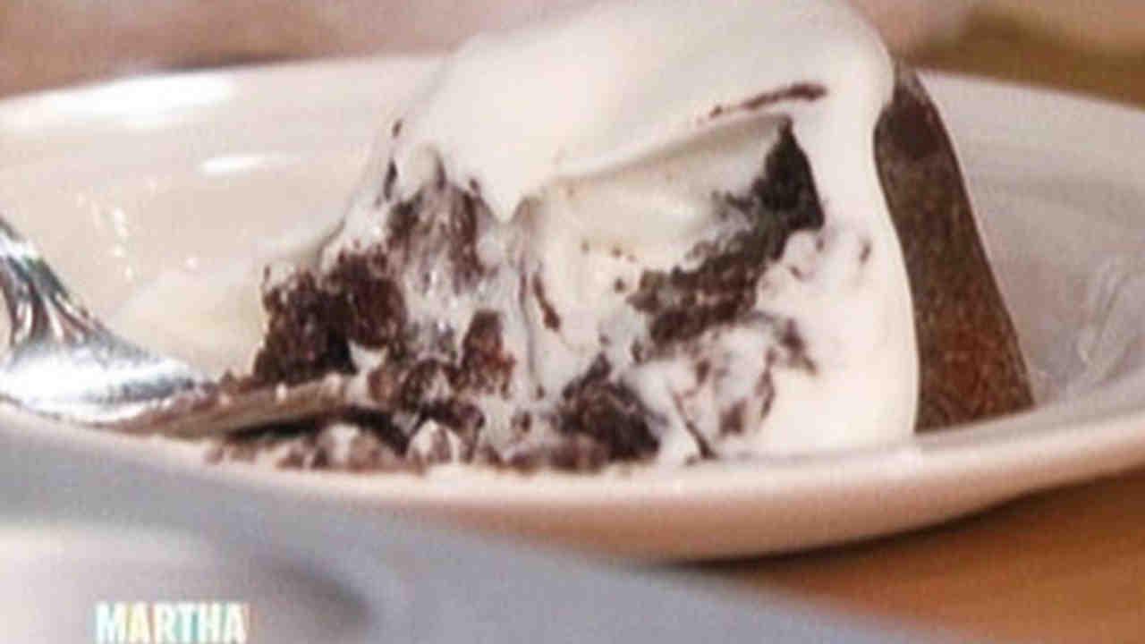 Martha Stewart Molten Mocha Chocolate Cake