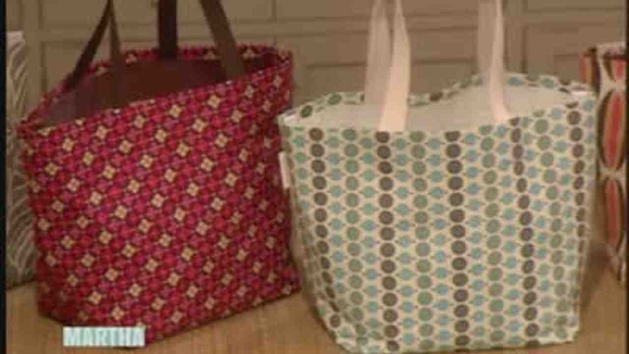 How To Make No Sew Totes