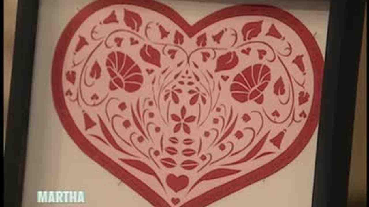 Video: Paper Cutting as a Hobby   Martha Stewart