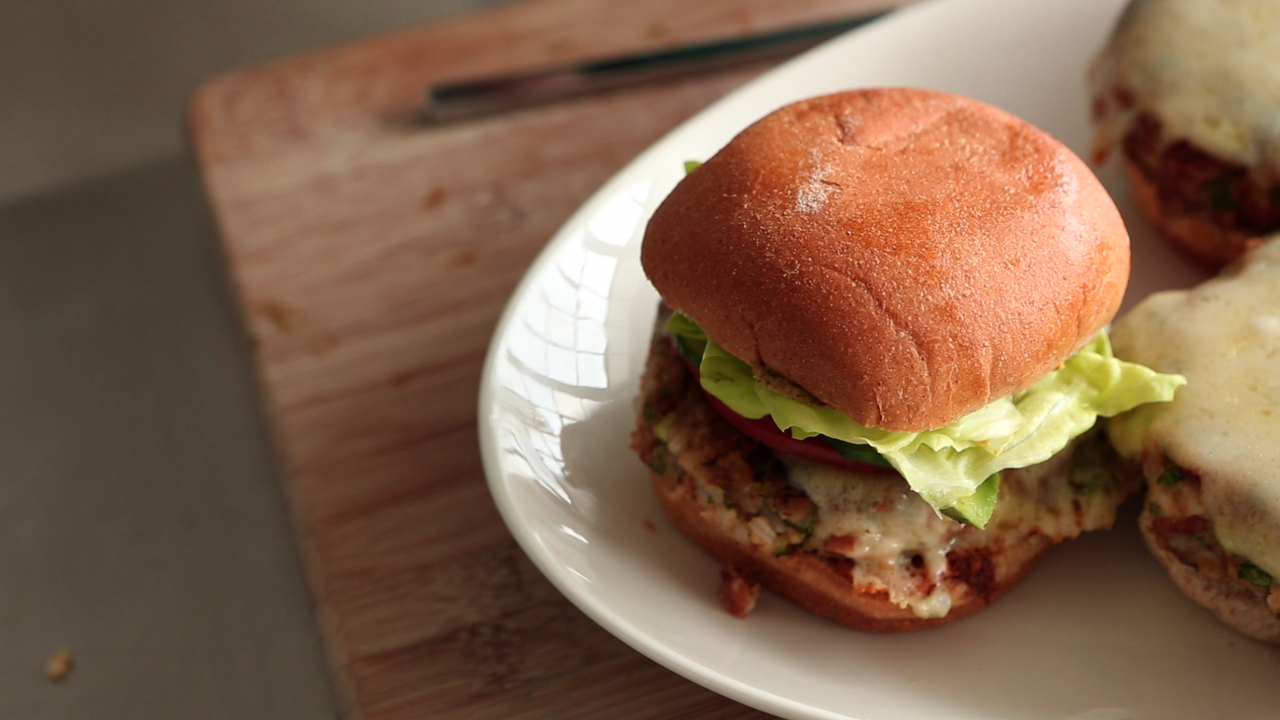 Pinto-and-Rice Burgers Recipe  Video Martha Stewart