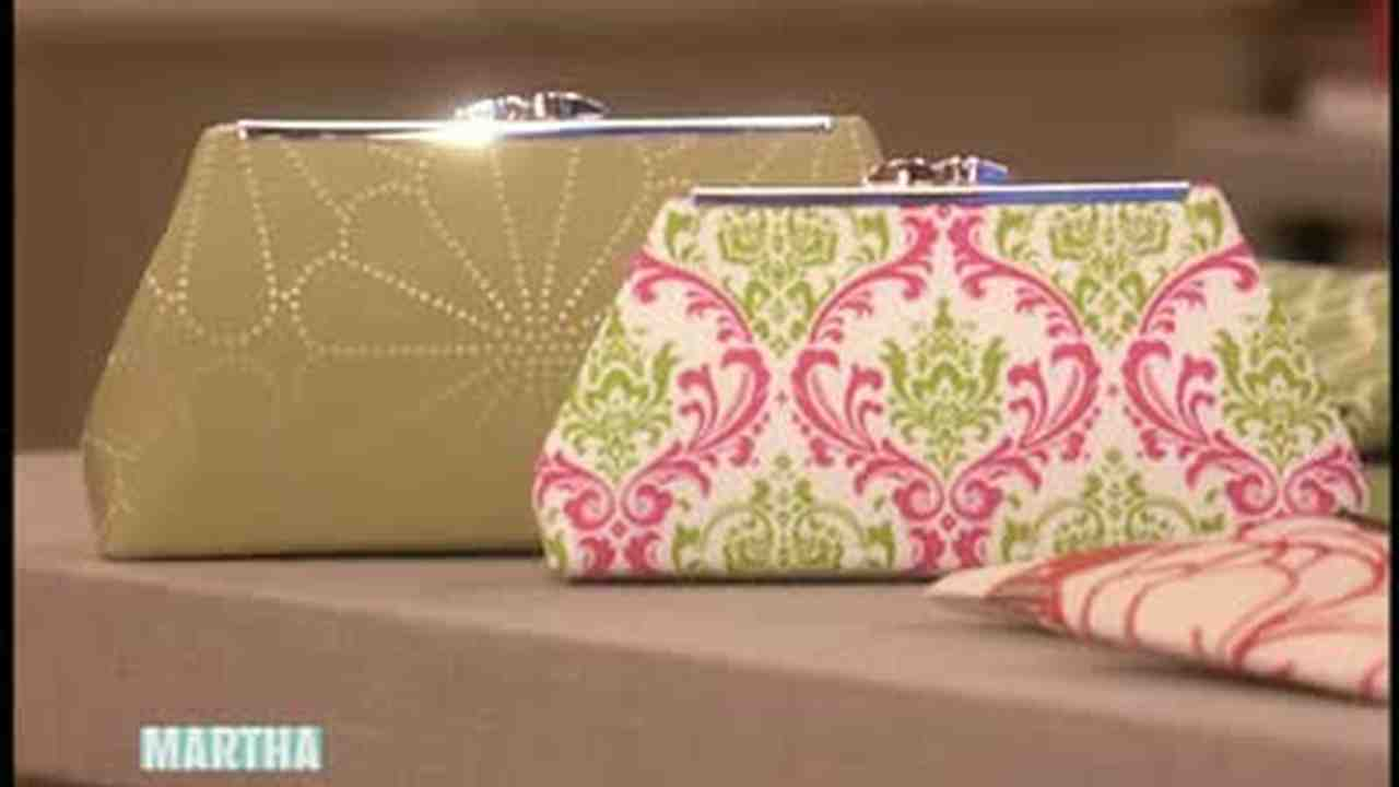 How To Make A Fabric Clutch