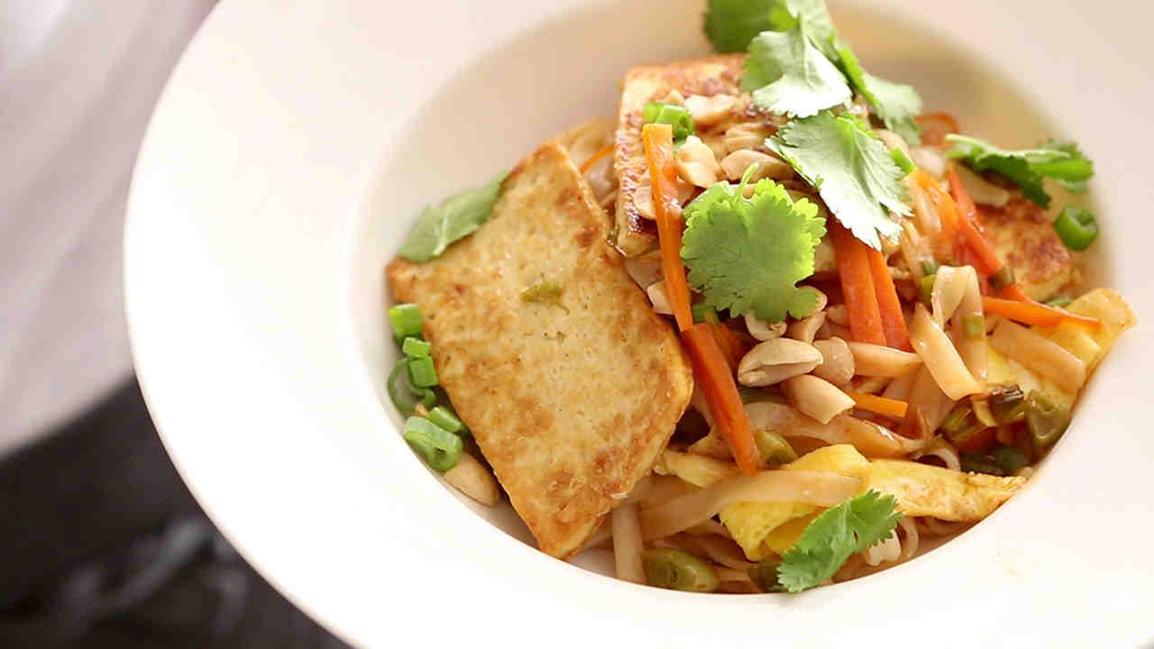 Pad thai tofu recipe easy
