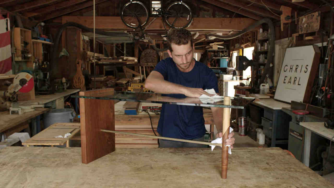 Modern Furniture Workshop video: meet chris earl, an l.a. modern furniture maker | martha