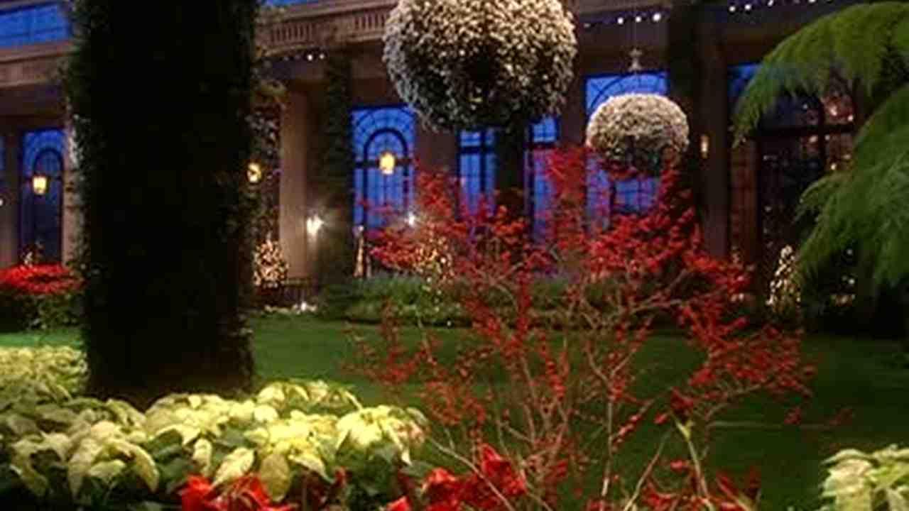 Longwood Gardens Christmas.Christmas At Longwood Gardens
