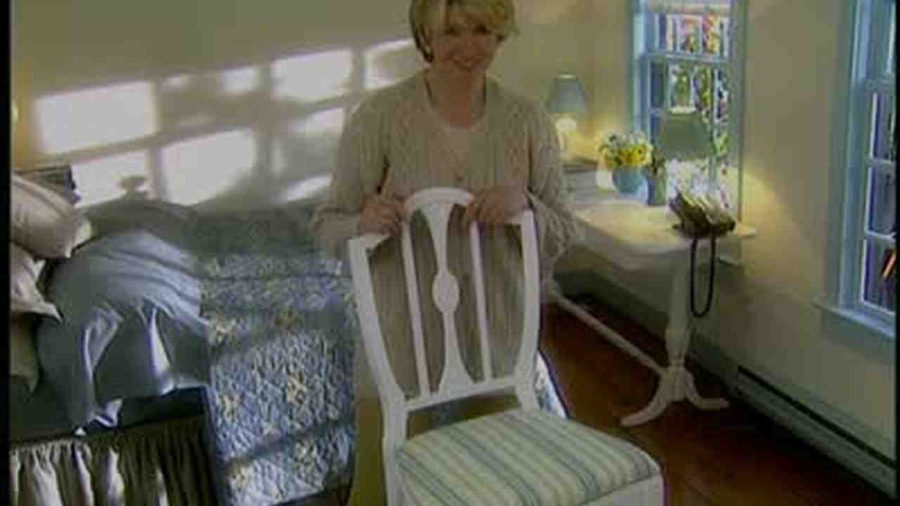 How To Recover A Seat Cushion