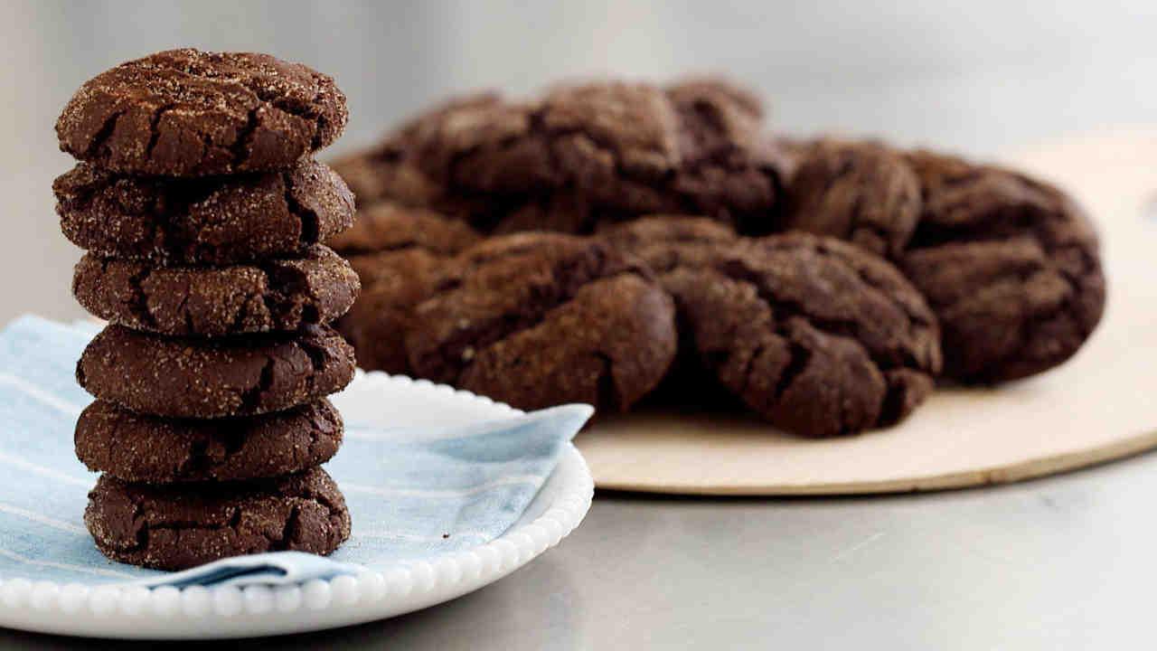 Mexican Hot-Chocolate Cookies Recipe  Video Martha Stewart