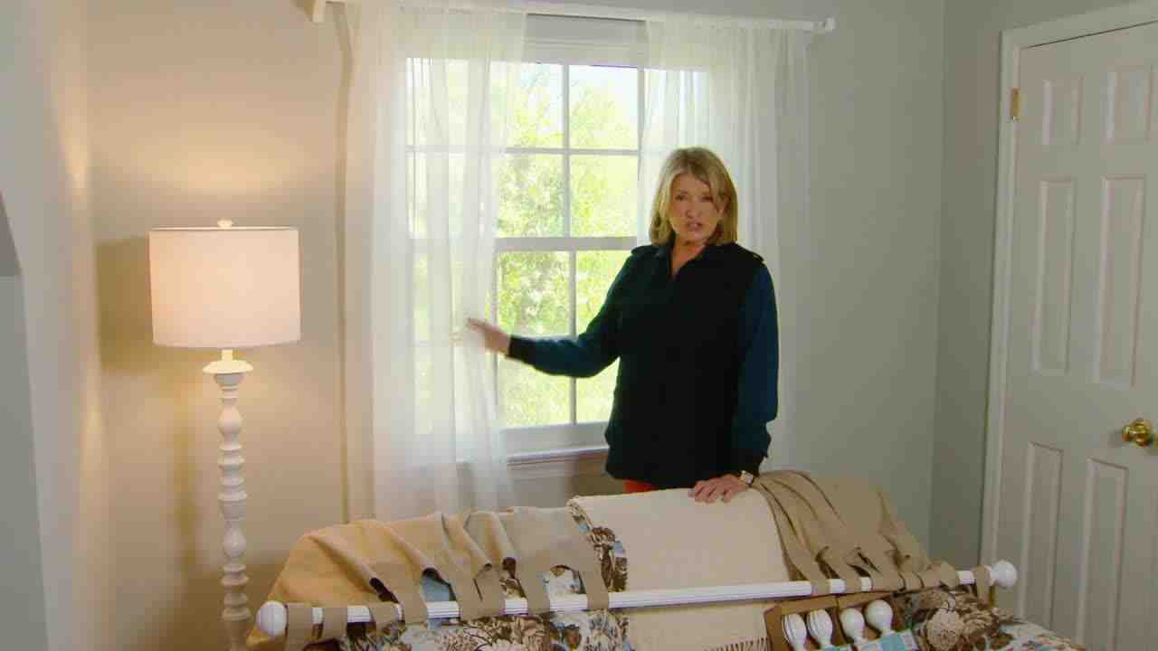 Hang Curtains video: how to choose and hang curtains | martha stewart