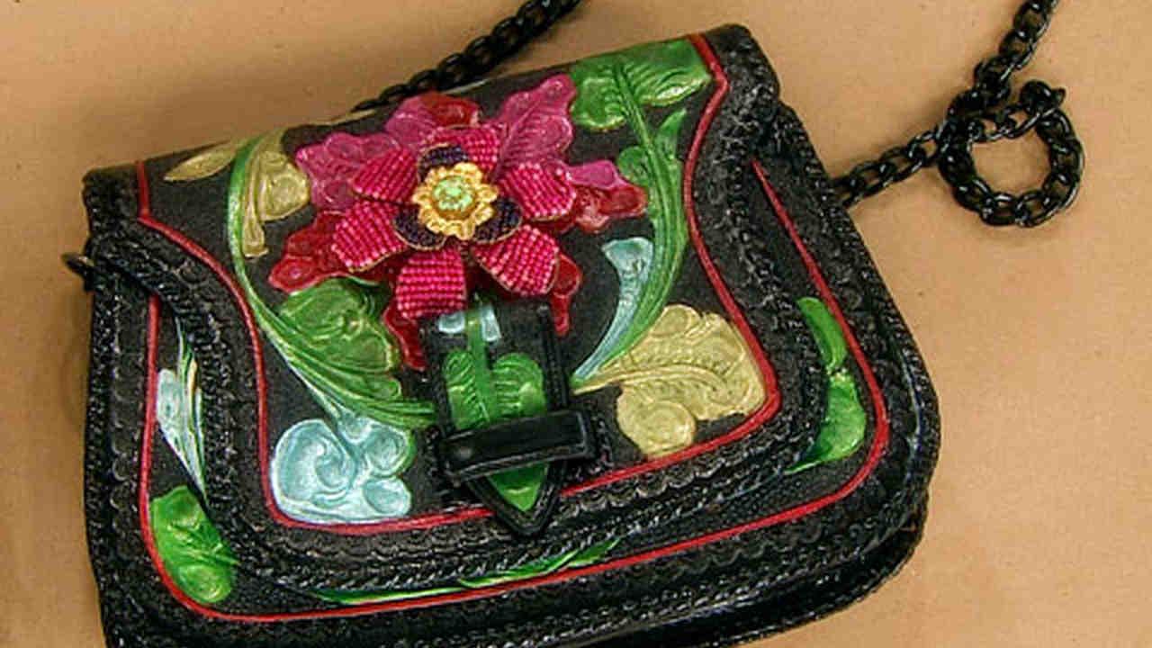 Video Painted Leather Handbag How To Martha Stewart
