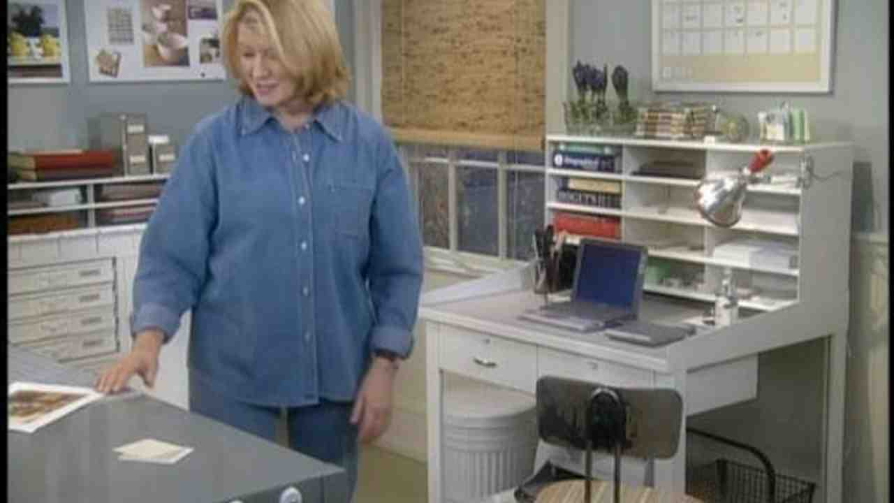 video: how to organize your home office | martha stewart
