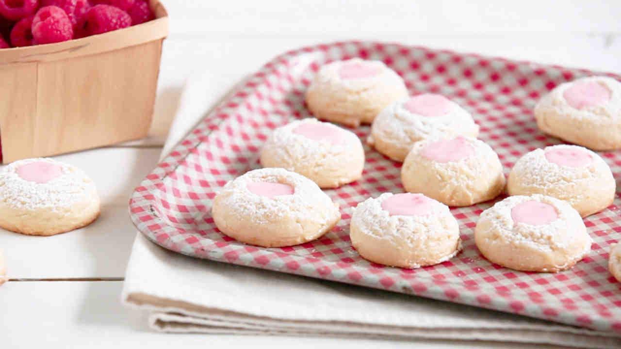 Thumbprint cookie powdered sugar icing recipe