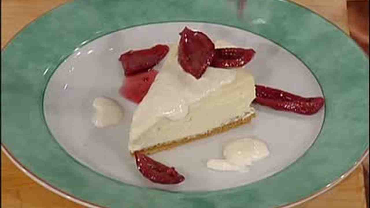 video: emeril's recipe for goat cheese cheesecake, part 1 | martha