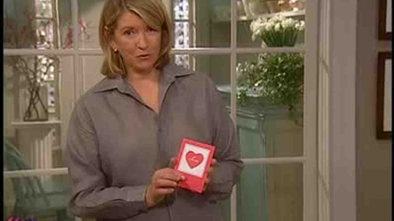 Video How to Make Pop up Valentines Day Cards – Martha Stewart Valentines Day Cards