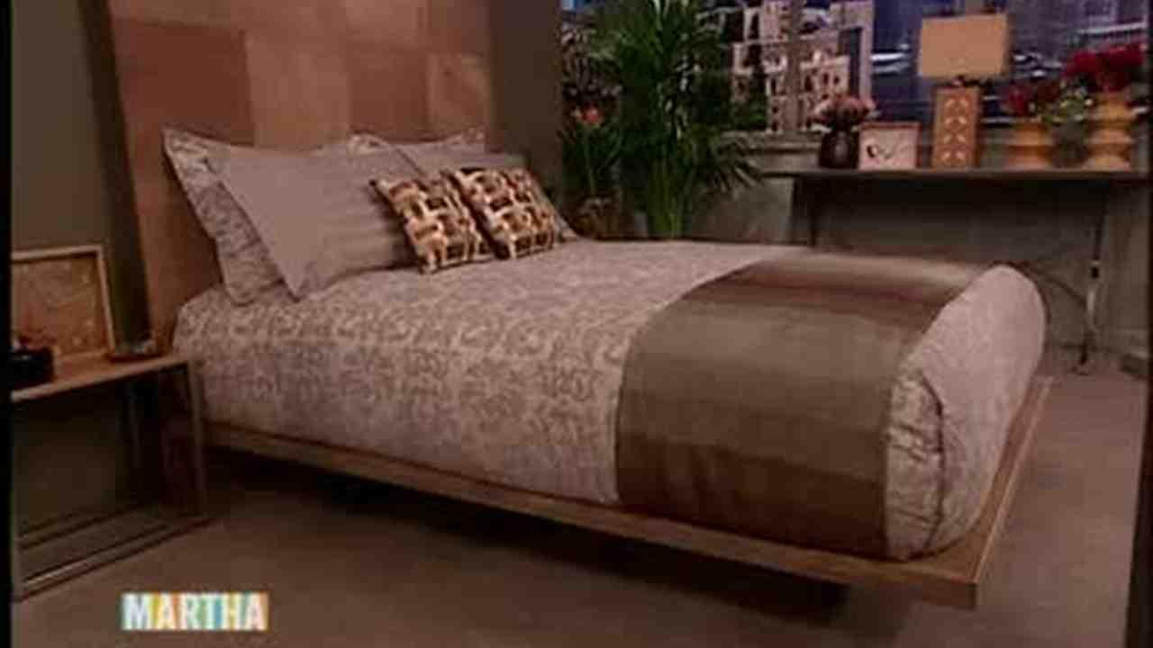 Video: How to Make a Wooden Platform Bed Part 1   Martha Stewart