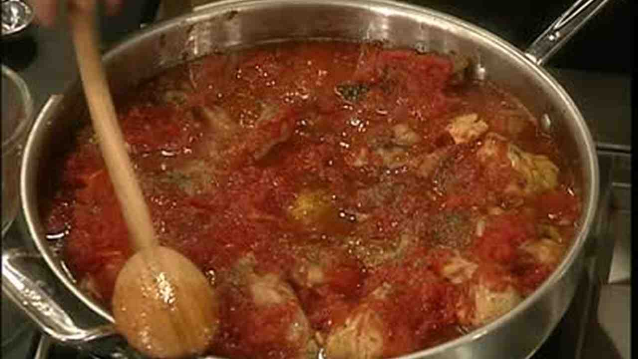 VideoAuthentic Italian Chicken Cacciatore Martha Stewart