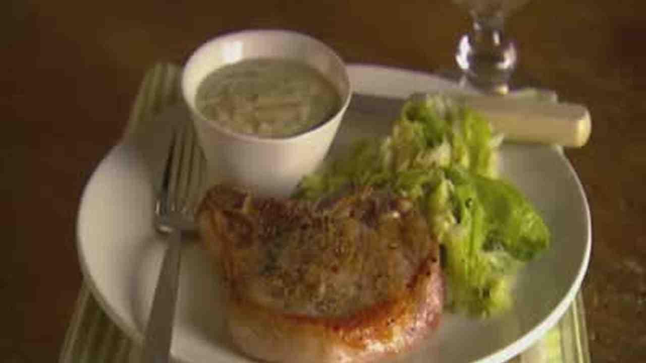 Video: A Simple Quick Cook Recipe For Pork Chops Martha Stewart