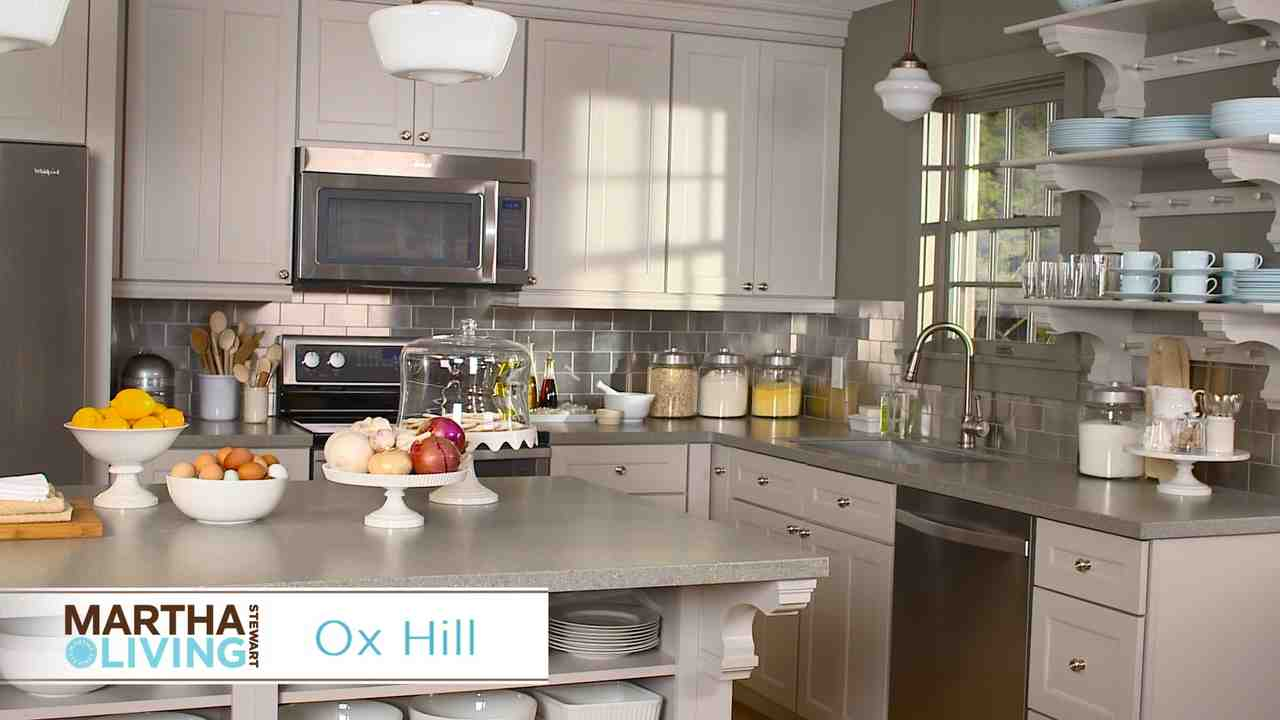 Kitchen Design Video video: new martha stewart living kitchens at the home depot