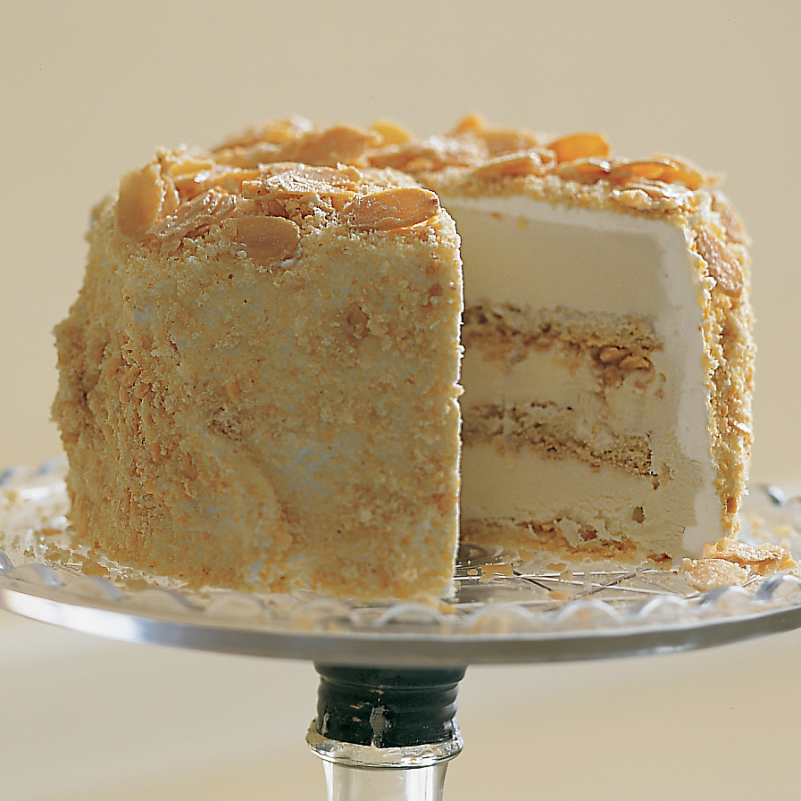 Almond Crunch Cake
