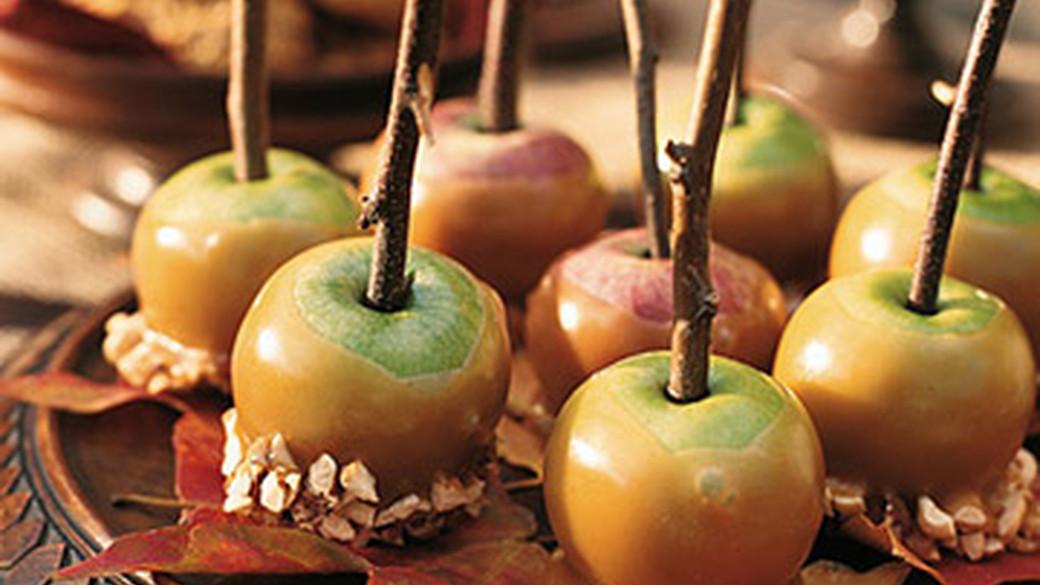 Caramel Lady Apples Recipe Martha Stewart