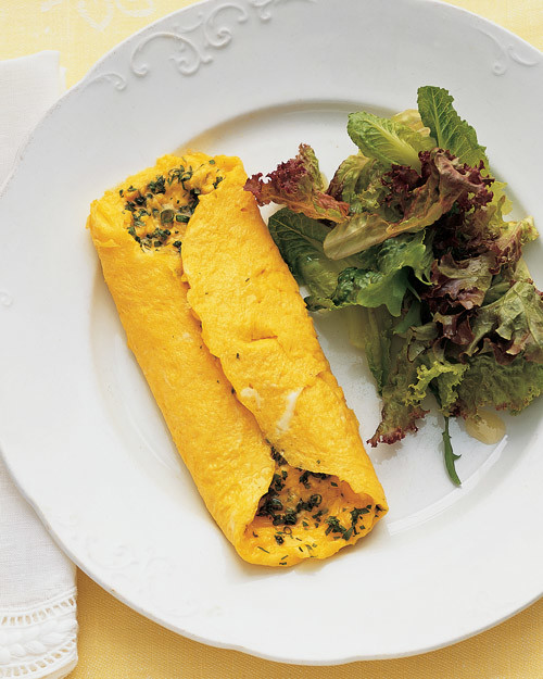 Denver Omelet Salad Recipe: Herb-Filled Omelet Recipe
