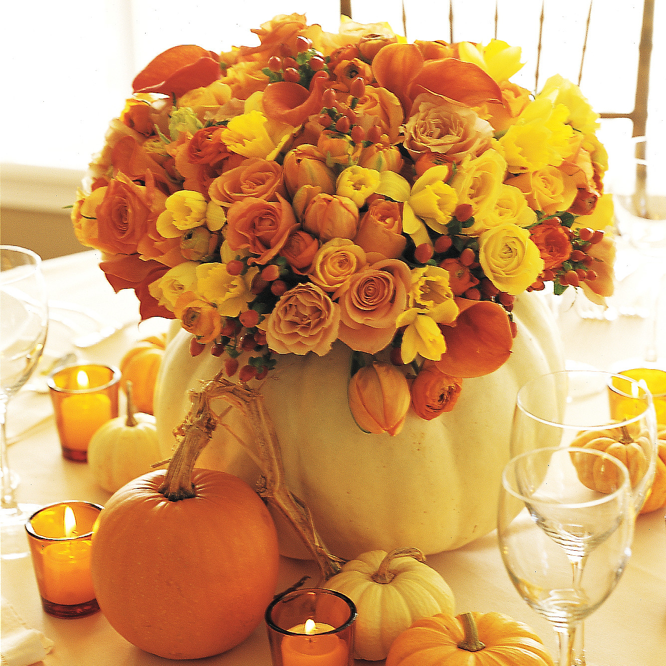 fabulous fall centerpieces | martha stewart