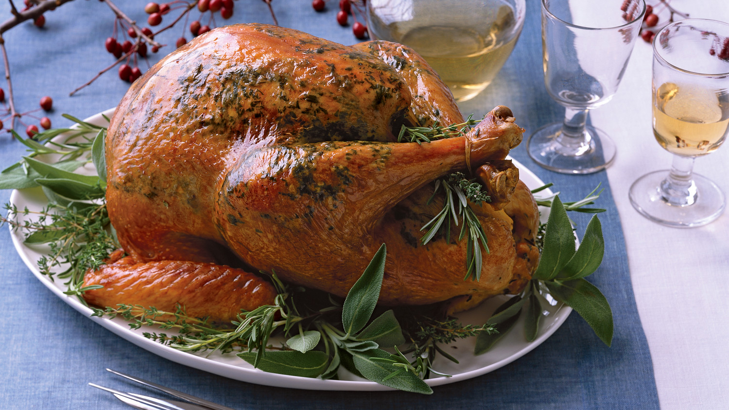 Herbed Roasted Turkey Recipe Martha Stewart