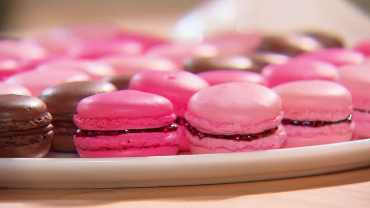 Video French Macarons Martha Stewart