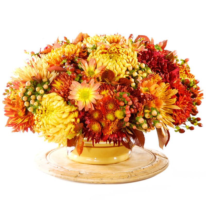 Fall Flower Mums: Chrysanthemum Arrangements